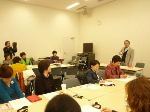 基調講演は、ホームレス支援活動を展開するNPO法人抱撲(ほうぼく)理事長の奥田知志さん。2016年1月15日、参議院議員会館で
