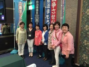 自治体議員立憲ネットワーク沖縄研修に参加した、生活者ネットの議員たち